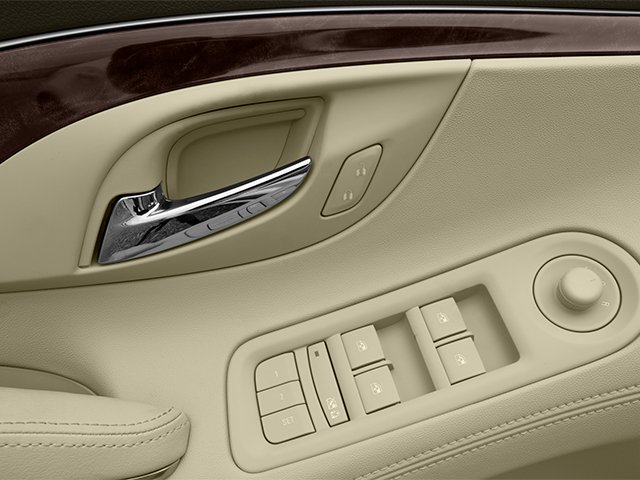 2014 Buick LaCrosse Prices and Values Sedan 4D Leather AWD V6 driver's side interior controls