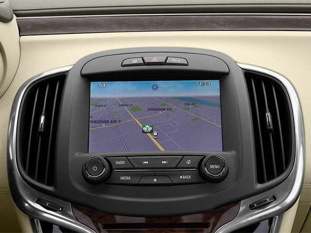 2014 Buick LaCrosse Prices and Values Sedan 4D Leather AWD V6 navigation system