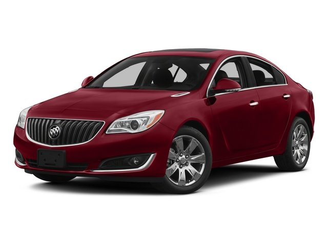 2014 Buick Regal Prices and Values Sedan 4D Premium II AWD I4 Turbo side front view