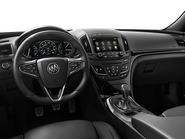 2014 Buick Regal Prices and Values Sedan 4D GS I4 Turbo full dashboard