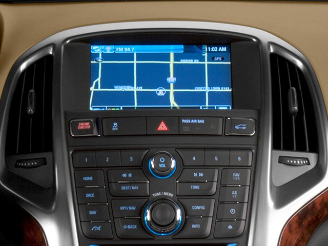 2014 Buick Verano Pictures Verano Sedan 4D Leather I4 photos navigation system