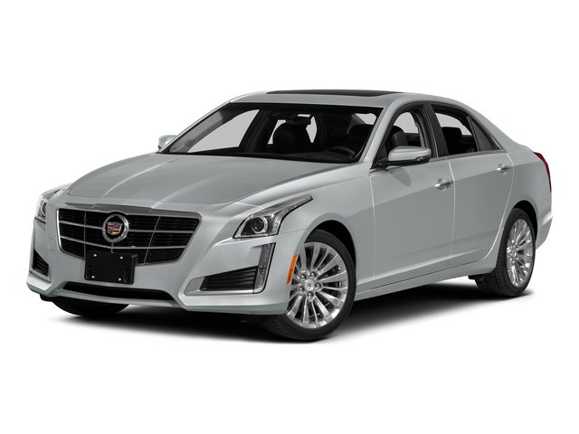 2014 Cadillac CTS Sedan Pictures CTS Sedan 4D Performance V6 photos side front view