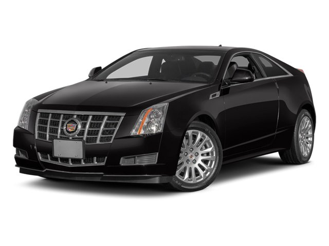 2014 Cadillac CTS Coupe Pictures CTS Coupe 2D Premium AWD V6 photos side front view