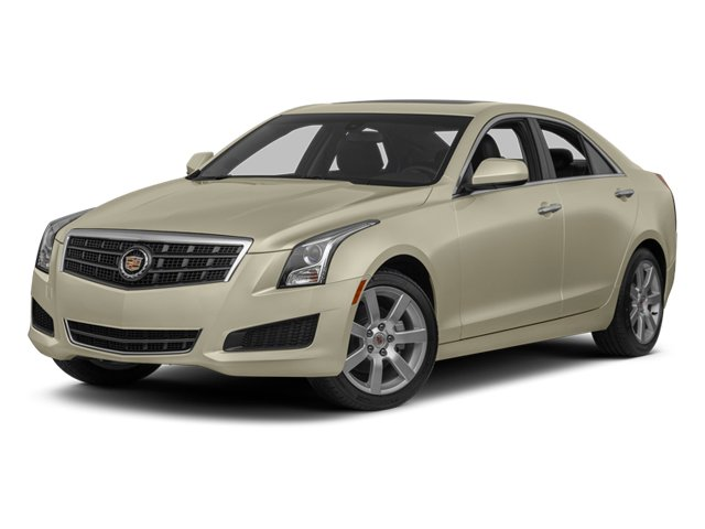 2014 Cadillac ATS Pictures ATS Sedan 4D Luxury I4 Turbo photos side front view