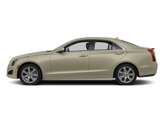 2014 Cadillac ATS Pictures ATS Sedan 4D Luxury I4 Turbo photos side view