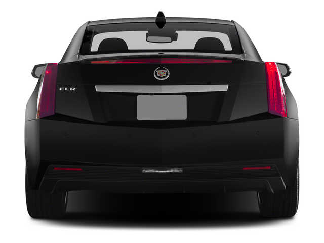 2014 Cadillac ELR Prices and Values Coupe 2D Luxury I4 rear view