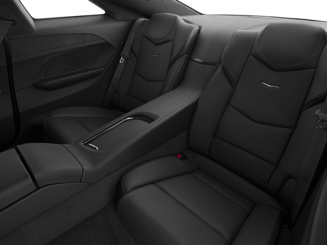 2014 Cadillac ELR Prices and Values Coupe 2D Luxury I4 backseat interior