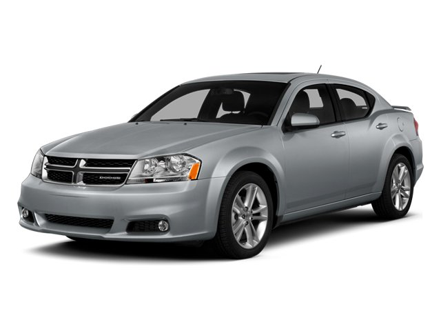 2014 Dodge Avenger Prices and Values Sedan 4D SXT I4 side front view