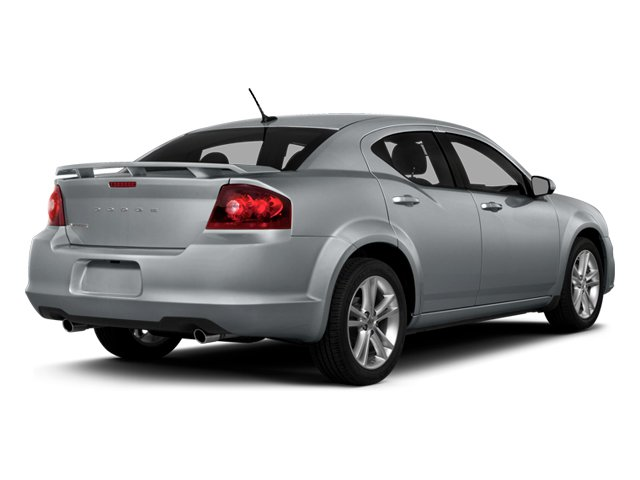 2014 Dodge Avenger Prices and Values Sedan 4D SXT I4 side rear view