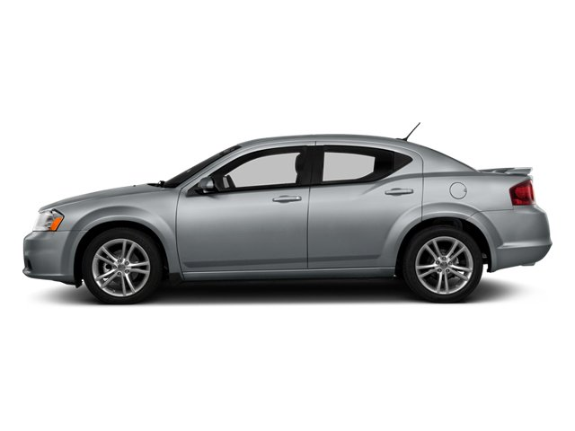 2014 Dodge Avenger Prices and Values Sedan 4D SXT I4 side view