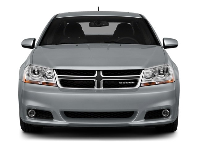 2014 Dodge Avenger Prices and Values Sedan 4D SXT I4 front view