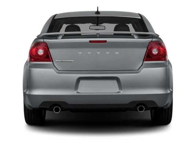 2014 Dodge Avenger Prices and Values Sedan 4D SXT I4 rear view