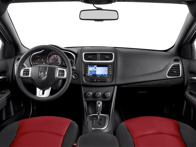 2014 Dodge Avenger Prices and Values Sedan 4D SXT I4 full dashboard