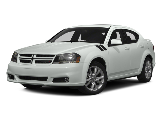 2014 Dodge Avenger Prices and Values Sedan 4D R/T V6 side front view