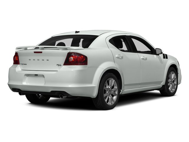 2014 Dodge Avenger Prices and Values Sedan 4D R/T V6 side rear view