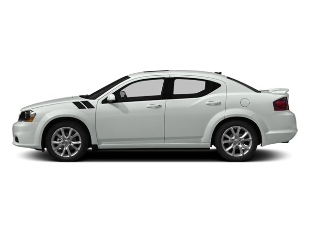 2014 Dodge Avenger Prices and Values Sedan 4D R/T V6 side view