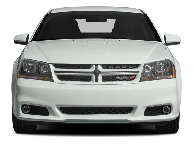 2014 Dodge Avenger Prices and Values Sedan 4D R/T V6 front view
