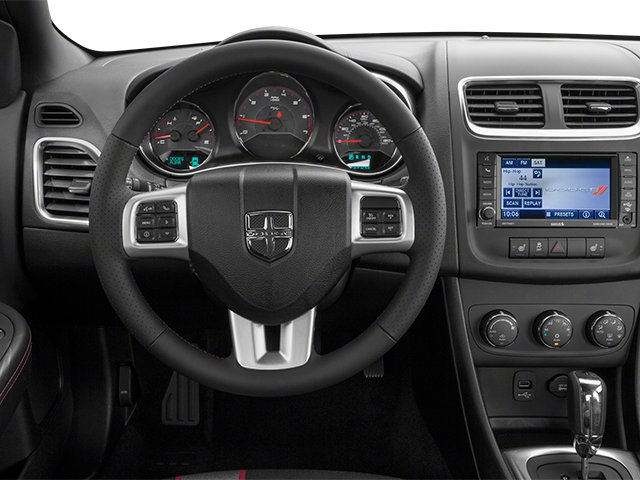 2014 Dodge Avenger Prices and Values Sedan 4D R/T V6 driver's dashboard