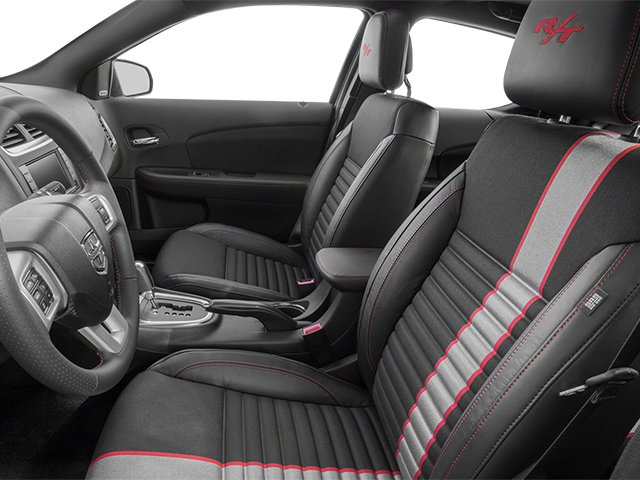 2014 Dodge Avenger Prices and Values Sedan 4D R/T V6 front seat interior