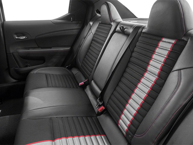 2014 Dodge Avenger Prices and Values Sedan 4D R/T V6 backseat interior