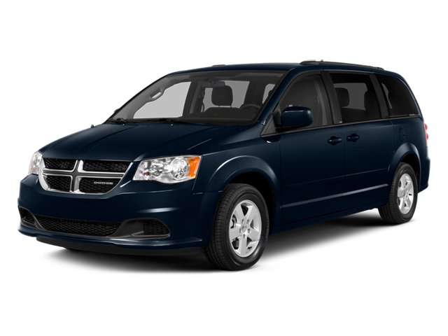 2014 Dodge Grand Caravan Prices and Values Grand Caravan SXT V6 side front view