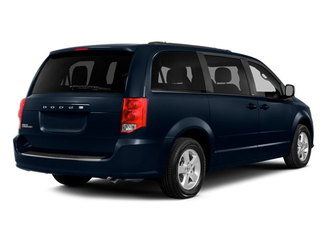 2014 Dodge Grand Caravan Pictures Grand Caravan Grand Caravan SE V6 photos side rear view