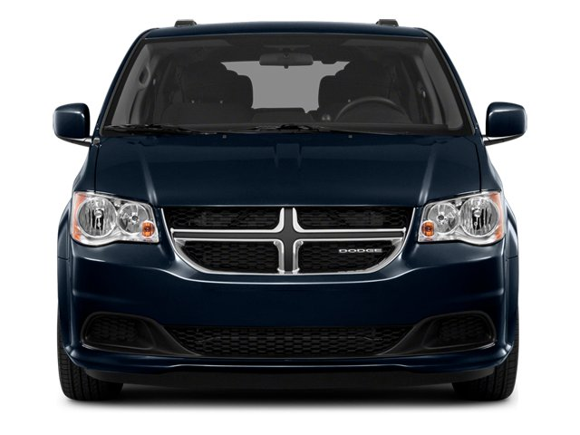 2014 Dodge Grand Caravan Prices and Values Grand Caravan SXT V6 front view