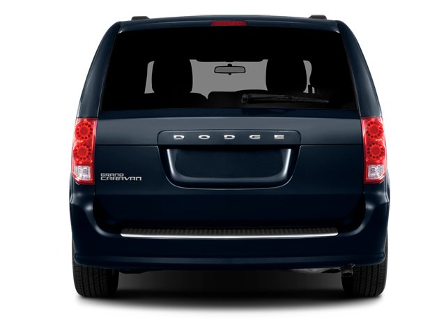 2014 Dodge Grand Caravan Prices and Values Grand Caravan SXT V6 rear view