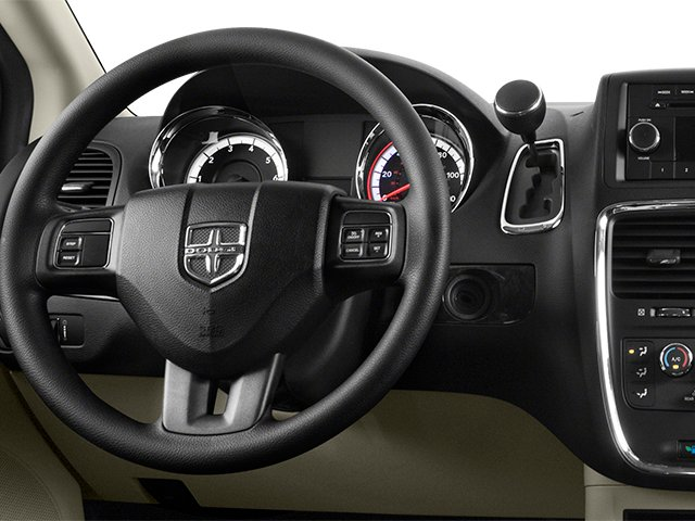 2014 Dodge Grand Caravan Prices and Values Grand Caravan SXT V6 driver's dashboard
