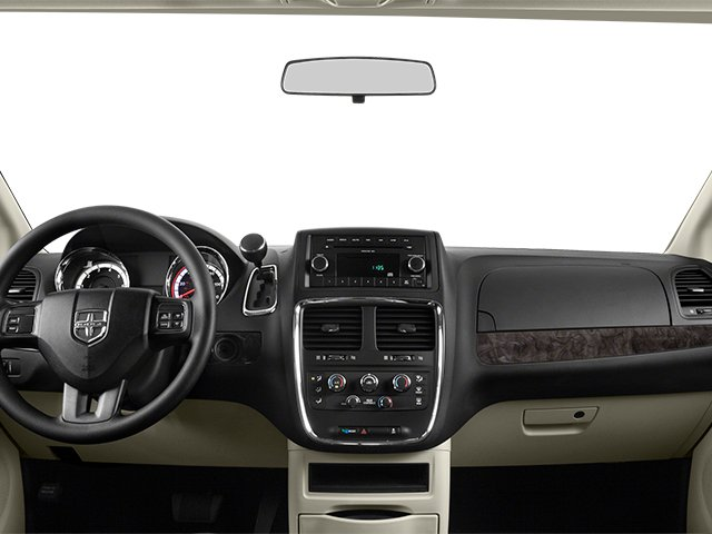 2014 Dodge Grand Caravan Prices and Values Grand Caravan SXT V6 full dashboard