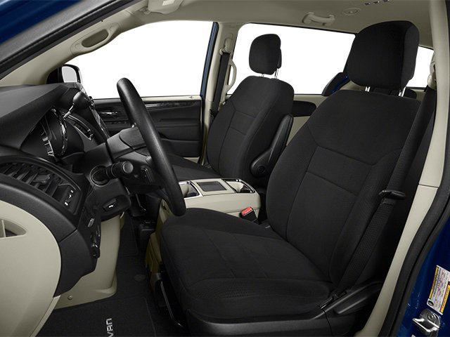 2014 Dodge Grand Caravan Prices and Values Grand Caravan SXT V6 front seat interior