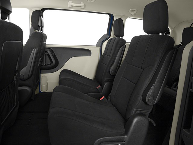2014 Dodge Grand Caravan Prices and Values Grand Caravan SXT V6 backseat interior