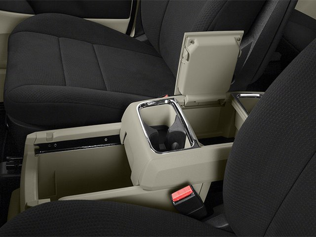 2014 Dodge Grand Caravan Prices and Values Grand Caravan SXT V6 center storage console