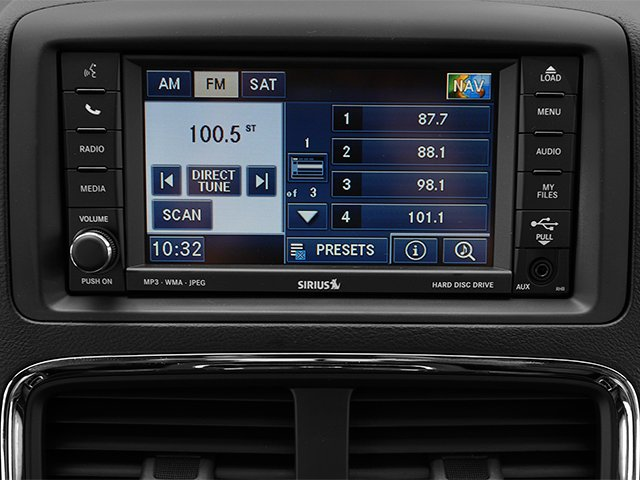 2014 Dodge Grand Caravan Prices and Values Grand Caravan R/T V6 stereo system