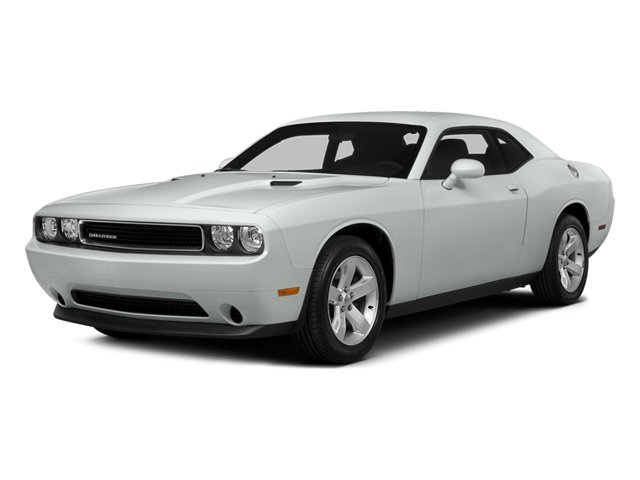 2014 Dodge Challenger Prices and Values Coupe 2D SXT V6 side front view