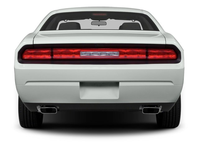 2014 Dodge Challenger Prices and Values Coupe 2D SXT V6 rear view