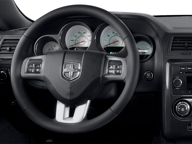 2014 Dodge Challenger Prices and Values Coupe 2D SXT V6 driver's dashboard