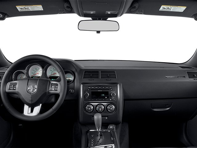 2014 Dodge Challenger Prices and Values Coupe 2D SXT V6 full dashboard