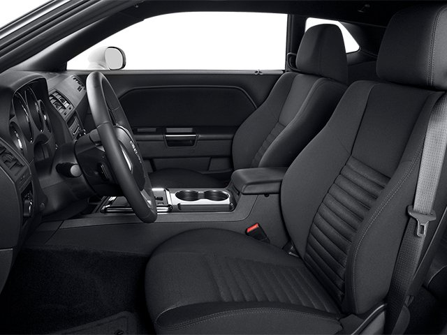 2014 Dodge Challenger Prices and Values Coupe 2D SXT V6 front seat interior