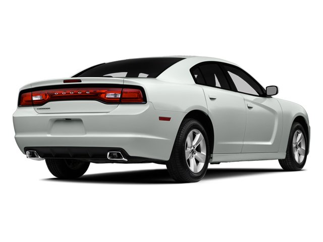 2014 Dodge Charger Prices and Values Sedan 4D SXT V6 side rear view