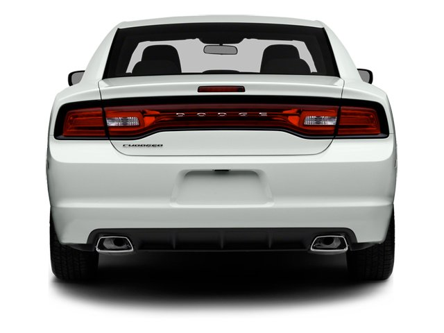 2014 Dodge Charger Prices and Values Sedan 4D SXT V6 rear view