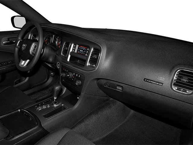 2014 Dodge Charger Prices and Values Sedan 4D SXT V6 passenger's dashboard