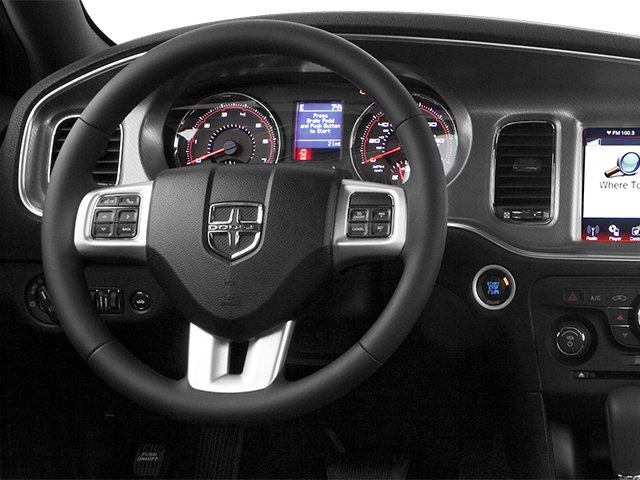 2014 Dodge Charger Prices and Values Sedan 4D R/T V8 driver's dashboard