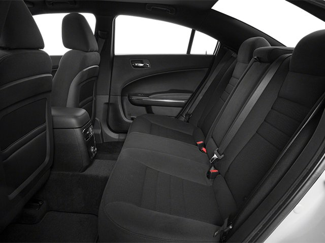 2014 Dodge Charger Prices and Values Sedan 4D R/T V8 backseat interior