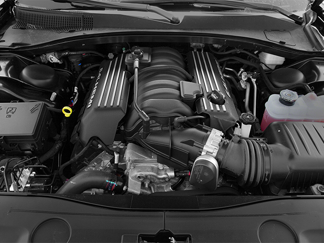 2014 Dodge Charger Pictures Charger Sedan 4D SRT-8 V8 photos engine