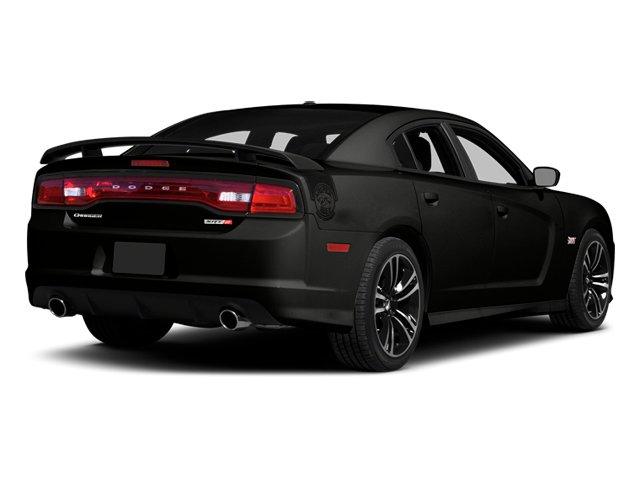 2014 Dodge Charger Prices and Values Sedan 4D SRT-8 Super Bee V8 side rear view