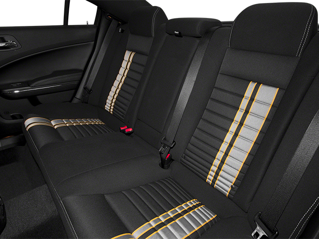 2014 Dodge Charger Prices and Values Sedan 4D SRT-8 Super Bee V8 backseat interior