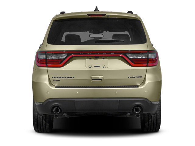 2014 Dodge Durango Prices and Values Utility 4D Citadel 2WD V6 rear view
