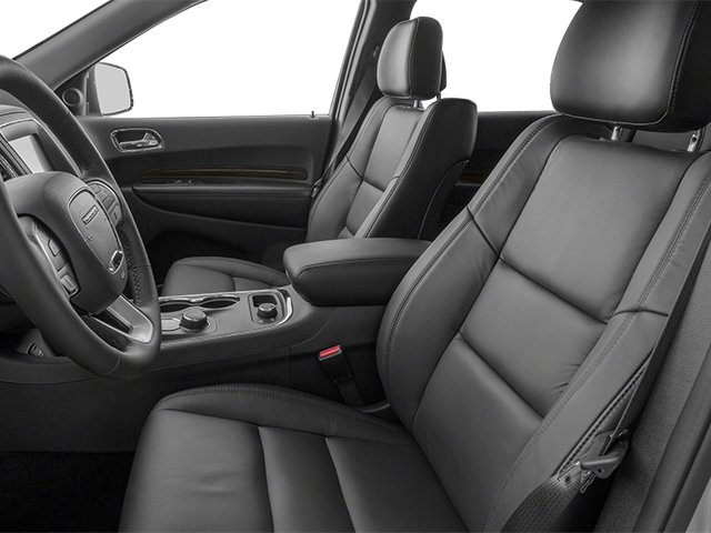 2014 Dodge Durango Prices and Values Utility 4D Citadel 2WD V6 front seat interior
