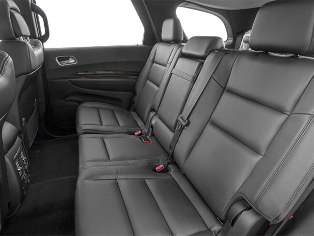 2014 Dodge Durango Prices and Values Utility 4D Citadel 2WD V6 backseat interior
